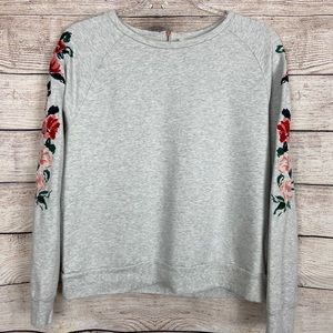 A New Day embroidered sleeve sweatshirt